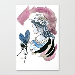 Beautiful Woman / Ugly Witch  Canvas Print