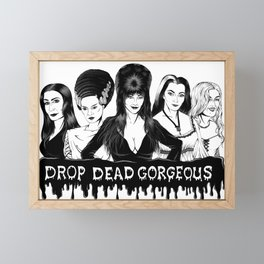 Ladies of Fright Framed Mini Art Print