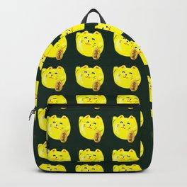 Neko Cat Yellow Backpack