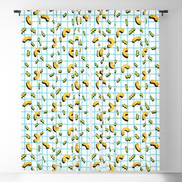 80s / 90s mac and cheese Blackout Curtain