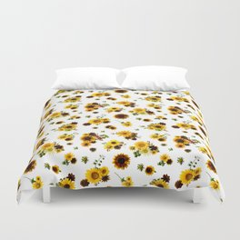 Sunflower Harvest Duvet Cover