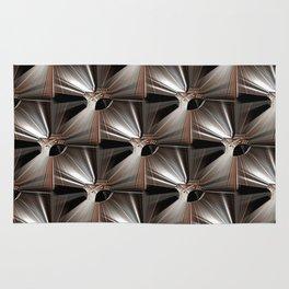 Metal Armour Screen Pattern Rug
