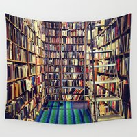 books Wall Tapestries featuring Books by Whitney Retter