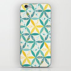 Patchwork Sunshine iPhone & iPod Skin