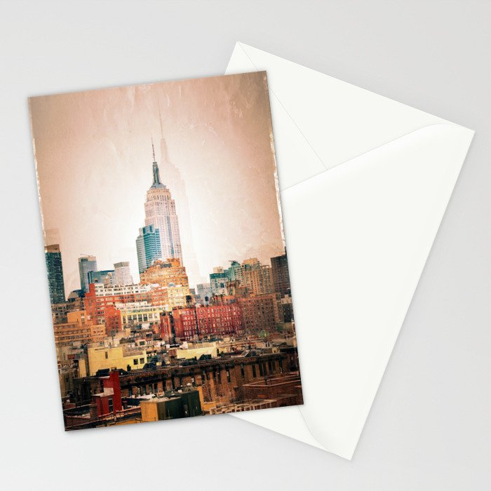 NYC Vintage style Stationery Cards