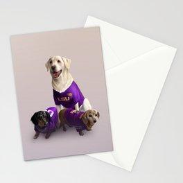 LSU Dogs Stationery Cards