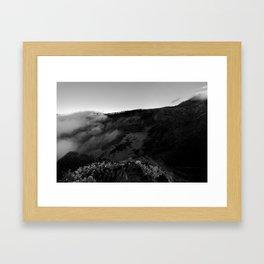 Crater 1 Framed Art Print