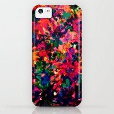 Neon Floral iPhone 5c Slim Case