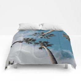 Palm Tree Summer Fun Comforters