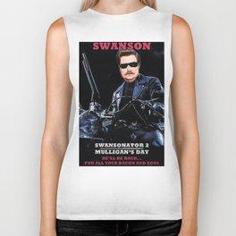 Swansonator 2: Mulligan's Day Biker Tank