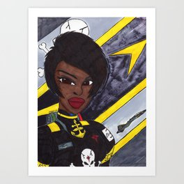 Star Fighter Pilot Art Print