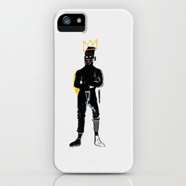 MP Basquiat iPhone Case