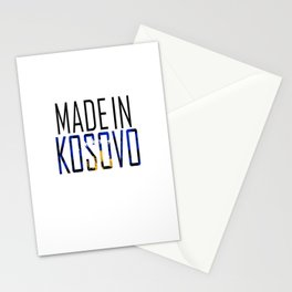 Made In Kosovo Stationery Cards