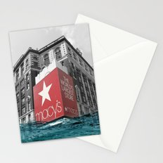 Macy's water line Stationery Cards