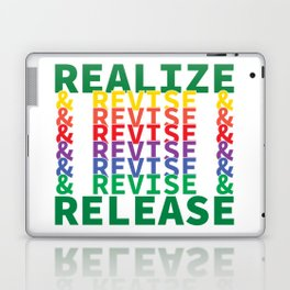 Realize&Revise&Release Laptop & iPad Skin