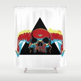 Illuminati Satan - Lucifer Shower Curtain