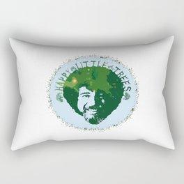 Happy Little Trees Rectangular Pillow