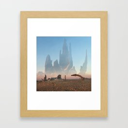 Looking for ID Framed Art Print