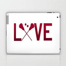 Love Lacrosse Laptop & iPad Skin
