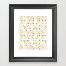 Mil gatos Framed Art Print