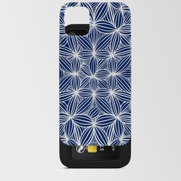 Blue night iPhone Card Case