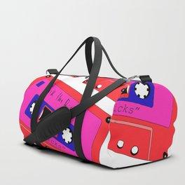 peep the new track Duffle Bag