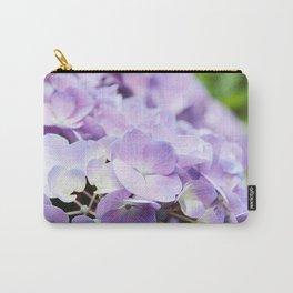 Light Purple Hydrangea Carry-All Pouch