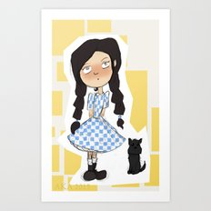 Dorothy and Toto Art Print