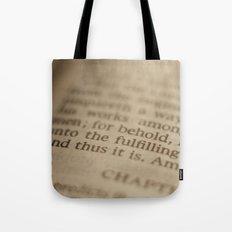 Conclusion Tote Bag