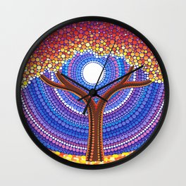 Secret Life of Trees Wall Clock