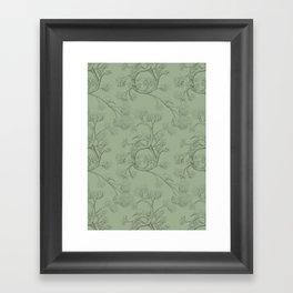 The Night Gardener - Endpapers Framed Art Print