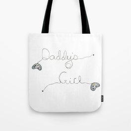 Daddy's Gamer Girl Tote Bag