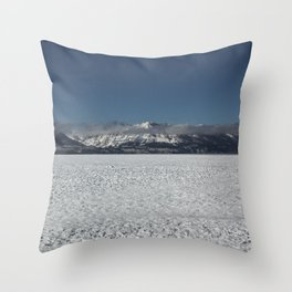 Long Walk Throw Pillow