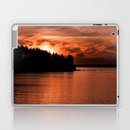 Red Sky At Night Photography Print Laptop & iPad Skin