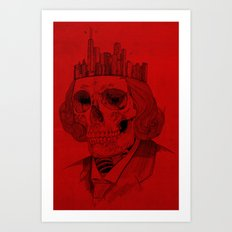 untouchable city Art Print