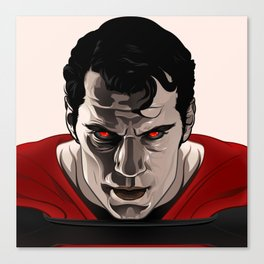 Kal-El (Man of Steel) Canvas Print