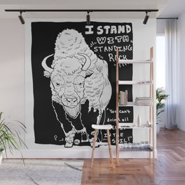 I Stand With Standing Rock Version 2 Wall Mural