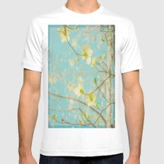 Longing for Spring Mens Fitted Tee White MEDIUM