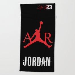 Jordan Air Nba Basketball Beach Towel