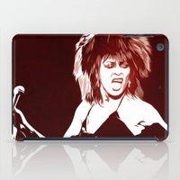 tina crespo iPad Cases featuring Tina - Pop Art by William Cuccio aka WCSmack