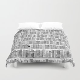 The Library II Duvet Cover
