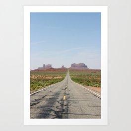 Monument Valley Veritcal Art Print