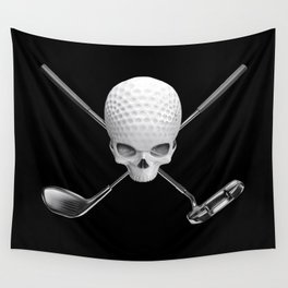 Fairway to Hell Wall Tapestry