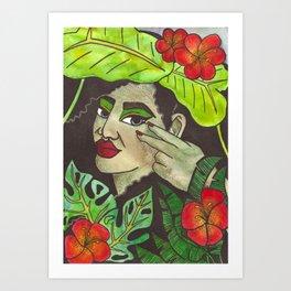 Tropical Enchanter Art Print