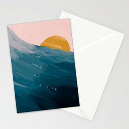 """One Wave At A Time"" Stationery Cards"