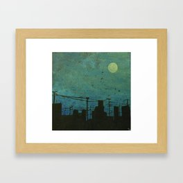 Moon Lit  Framed Art Print