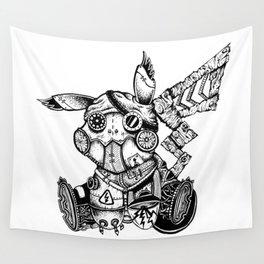 Steampunkachu Wall Tapestry
