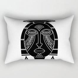Mask I Rectangular Pillow