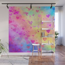 Hearty Watercolor 2 Wall Mural