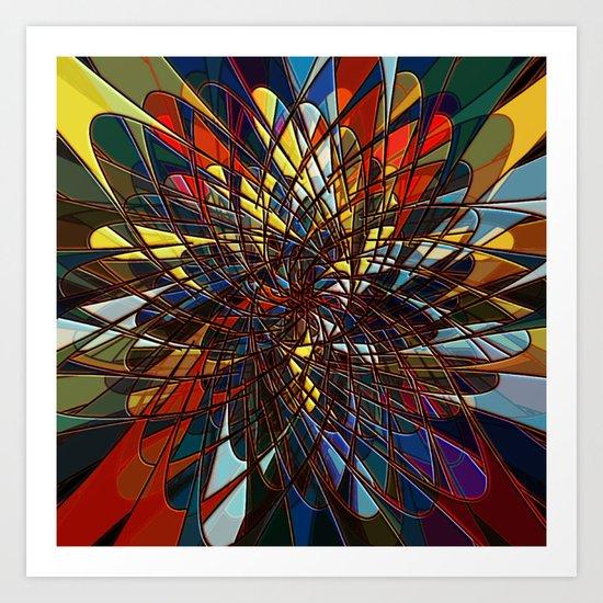 Gravitational pull Art Print